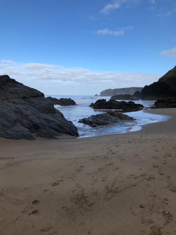 Llangrannog Beach. Photo Jill Greenhlagh